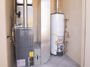 Hot Water Heater and a Furnace
